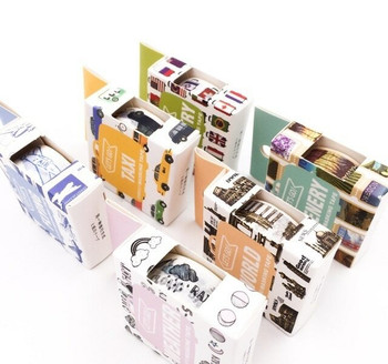 Travel Washi Tape   15mm x 7m   Sold by Each   6970840359108