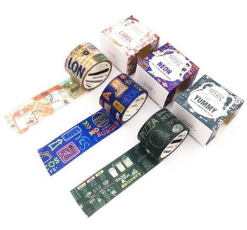Signs Washi Tape   30mm x 5m   Sold by Each   6970840359092