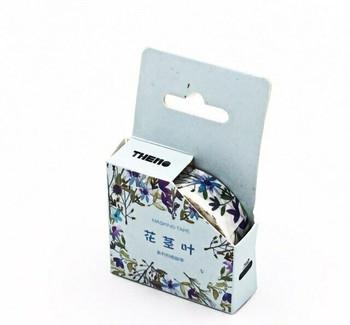 THEMO Washi Tape   Wild Flowers   15mm x 7m   6970852370245-WF