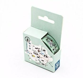 Washi Tape | Swiss Travels | 15mm x 7m | 6956245210671-S