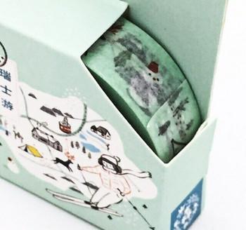 Washi Tape   Swiss Travels   15mm x 7m   6956245210671-S