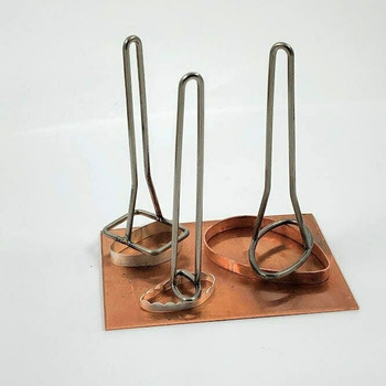 Titanium Ring Shank & Bezel Holder Set of 3 | HOL-134.00