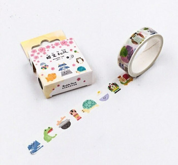 Bentoto House Washi Tape | 15mm x 7m | 6971034170578