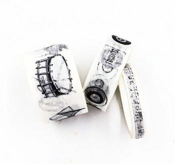 Surmai Washi Tape Set of 3    Music   6922587711138
