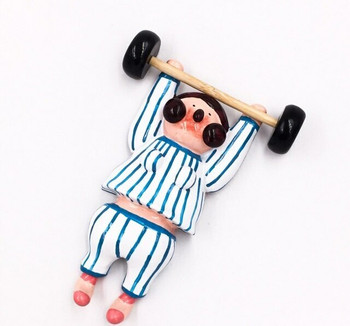 Fridge Magnet | Weightlifter | FM018