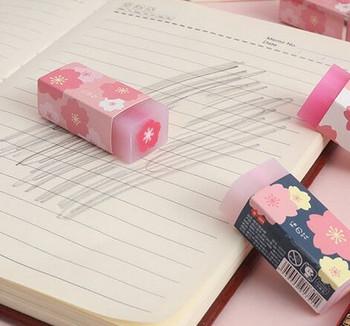 Floating Cherry Blossom Eraser    H200909
