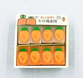 Jelly Carrot Eraser   H200915