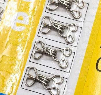 Silver Hooks & Eyes | 24-Pair Pack | H20201148