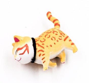 Cat Fridge Magnet   Spotted Ginger   FM043