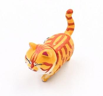 Cat Fridge Magnet | Striped Ginger | FM044