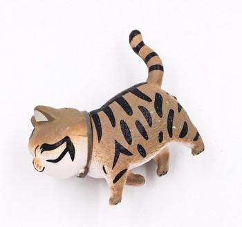 Cat Fridge Magnet   Tabby   FM046