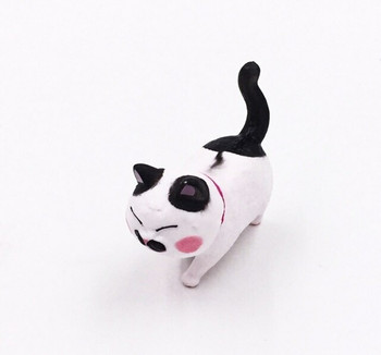 Cat Fridge Magnet | Black Spots, Pink Collar | FM049