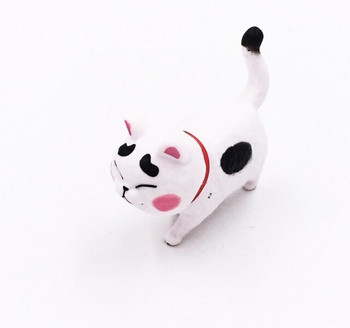 Cat Fridge Magnet | Black Spots, Red Collar | FM050