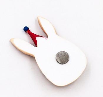 Party Animal Fridge Magnet   Bunny   FM052
