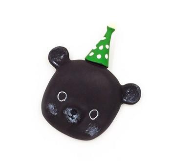 Party Animal Fridge Magnet   Bear   FM055
