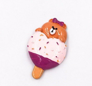 Ice Cream Fridge Magnet   Baby Bear  FM058