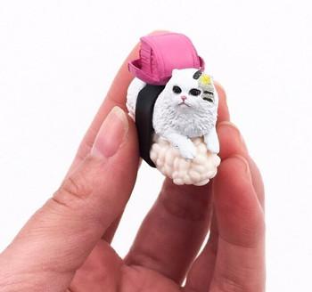 Cat-shimi Fridge Magnet | Backpack | FM063