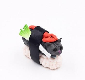 Cat-shimi Fridge Magnet   Lobster   FM065