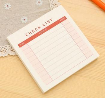 Checklist Notepad   H20200683