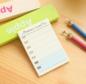 Weekly Plan Notepad   H20200685