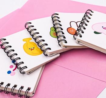 White Spiral-Bound Notebook   H20200635-39