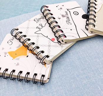 Animal Spiral-Bound Notebook   H20200640-45