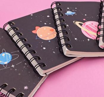 Planets Spiral-Bound Notebook   H20200646-49
