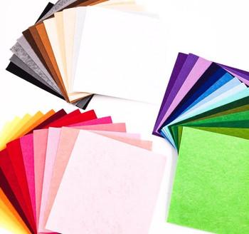 Felt Sheets   Set of 41 Colours   15x15cm   H190514S