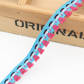 Blue Hand-in-Hand Tape Ribbon | Sold by metre | H20201147