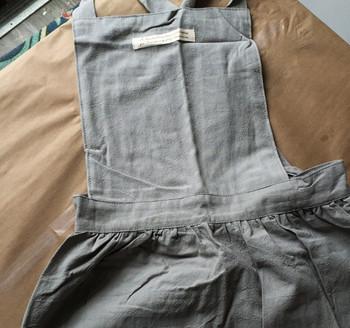 Washed Cotton Apron | Sage Green | H20201023