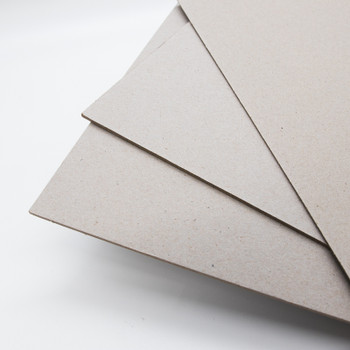 Grey Chipboard | For Bookbinding & Modelling | 1mm | A4 | H1905096