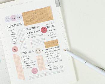 Papermore Morandi Smiley Stickers | 2 Sheets | 6921345259950
