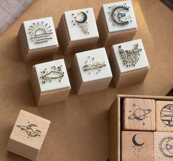 Sun Moon & Skies | Stamp Set of 16 | 6971400044687