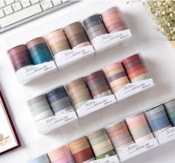 Washi Tape Set of 10   5 Styles    H20201599-1603