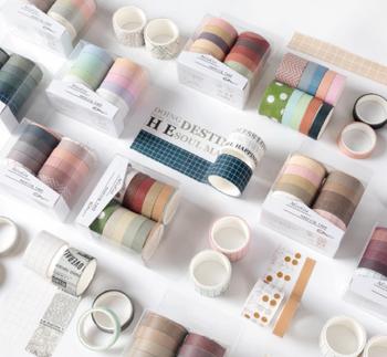 Washi Tape Set of 10 | 5 Styles  | H20201599-1603