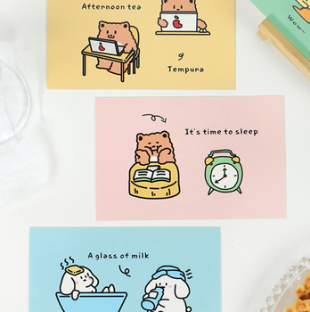 Hisome Animals | Set of 30 Postcards | 6921345295644