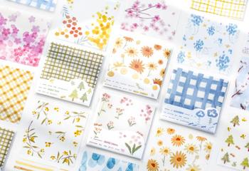 Translucent Note Paper Set | 4 Styles | H20201622-25