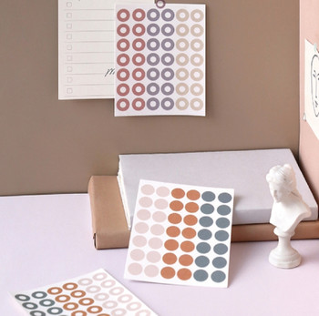 Note For   Washi Dot Stickers   6 Styles   H20201640-45