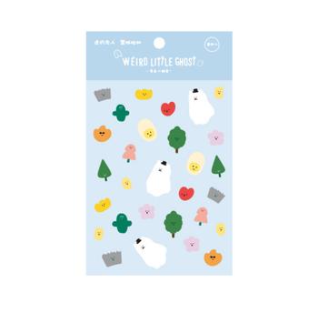 Weird Little Ghost Sticker Pack   6972595737675