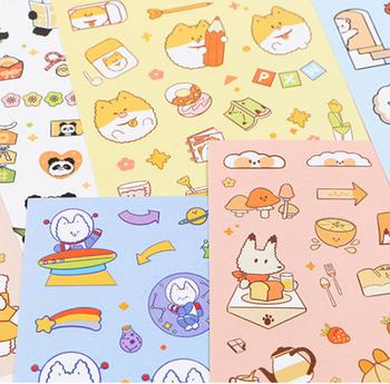 InFeelMe Animal Sticker Pack   6 Styles   H20201671-76