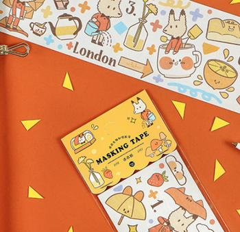 Large Washi Tape | 6 Styles | H20201448-53