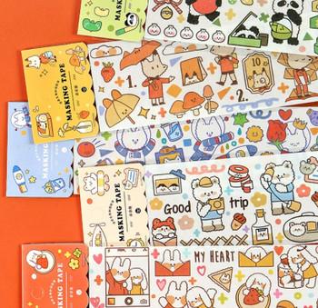 Large Washi Tape   6 Styles   H20201448-53