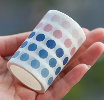 Washi Dot Sticker Tape   7 Styles   H20201499-1505