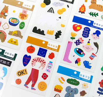 Colourful Sticker Pack | 10 Styles | H20201506-15