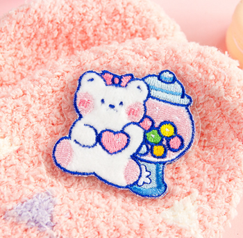 Little White Bear Embroidery Patch | 10 Styles | H20201516-25