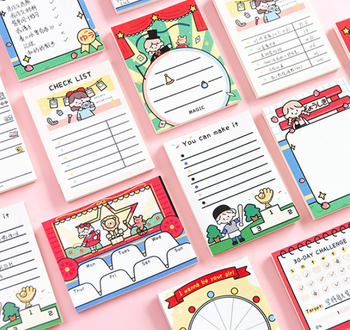 Scheduling Memo Pads | 8 Styles | H20201532-39