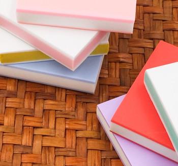 Rubber Cut Plate | Colourful Inside | 4.8 x 4.8 x 1 cm | 6971618330664