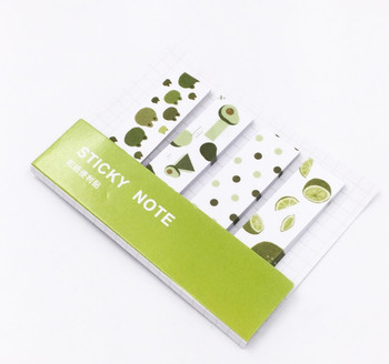 Washi Tape Sticky Notes | Half Lime | 6925952229665
