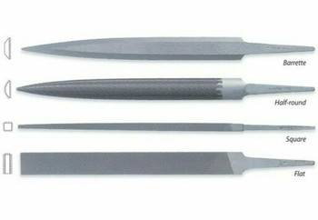 Friedrich Dick Hand File Set of 4 Cut#2 | 114771