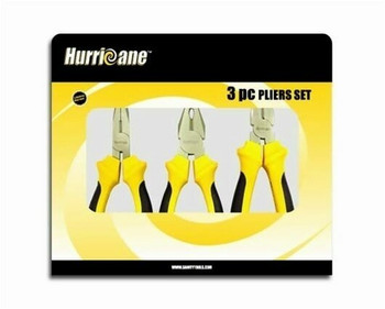Hurricane 3pcs pliers set 180mm | HU401160
